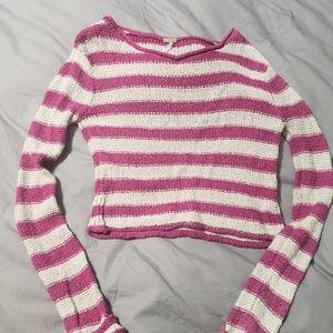 "Free People Striped ""beach"" Sweater XS"